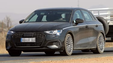 Audi A3 2020  - spies - front tracking