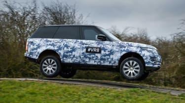 Range Rover Sentinel jump