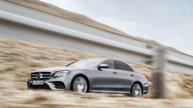 Mercedes E-Class 2016 side front