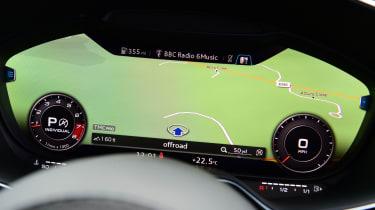 Audi TT RS -  dials 2