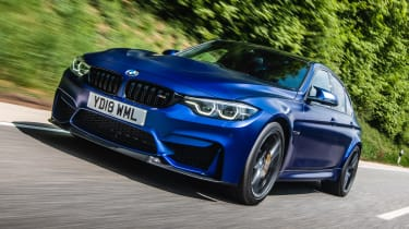 BMW M3 CS - front