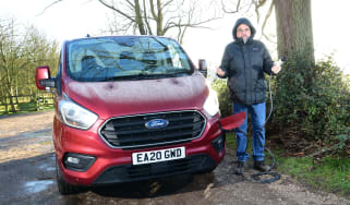 Ford Transit Custom PHEV - long termer