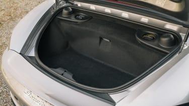 Porsche Boxster 25 Years - boot