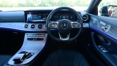 Mercedes CLS 450 - dash