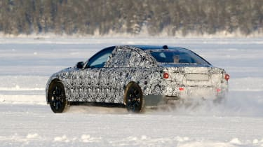 New BMW 7 Series rear cornering