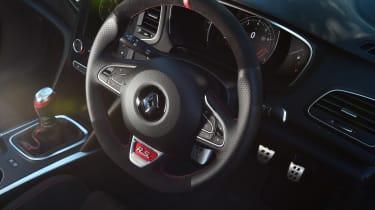 Renault Megane R.S. - steering wheel