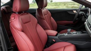 Audi A5 Coupe 2016 - seats