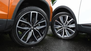 SEAT Ateca vs Renault Kadjar - wheels