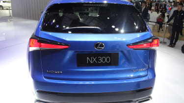Lexus NX facelift 2017 rear