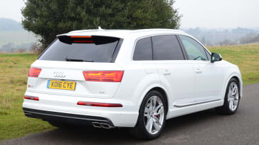 Audi SQ7 long term test - first report rear static