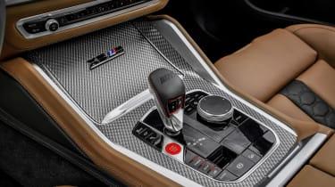 BMW X5 Competition - centre console