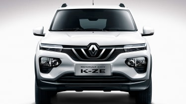 Renault City K-ZE - full front