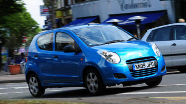 The Alto sits alongside the Splash as Suzuki's smallest, cheapest car.
