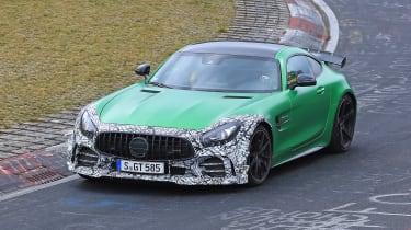 Mercedes-AMG GT R Clubsport track