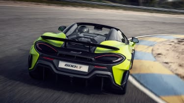 McLaren 600LT Spider - rear cornering