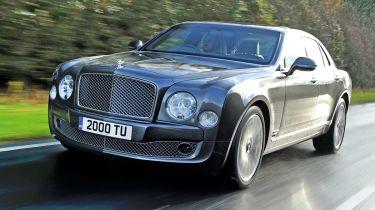Bentley Mulsanne Mulliner front tracking