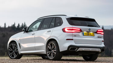 bmw x5 m50d static rear