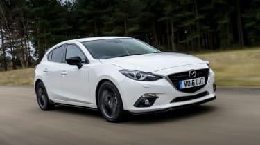 Mazda 3 Sport Black - front tracking 2