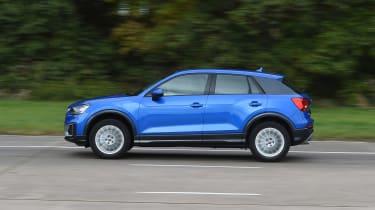 Audi Q2 - blue side