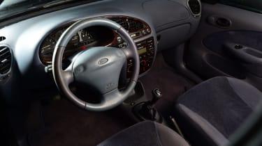 Ford Fiesta Mk4 - interior