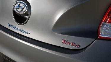 Hyundai Veloster Turbo badge
