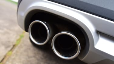 Audi A4 Allroad - exhaust