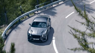 Bentley Continental GT Supersports 2017 - video overhead 2