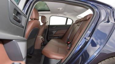 Jaguar XE AWD - rear seats