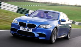 BMW M5 UK drive front tracking