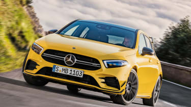 Mercedes-AMG A 35 - front cornering