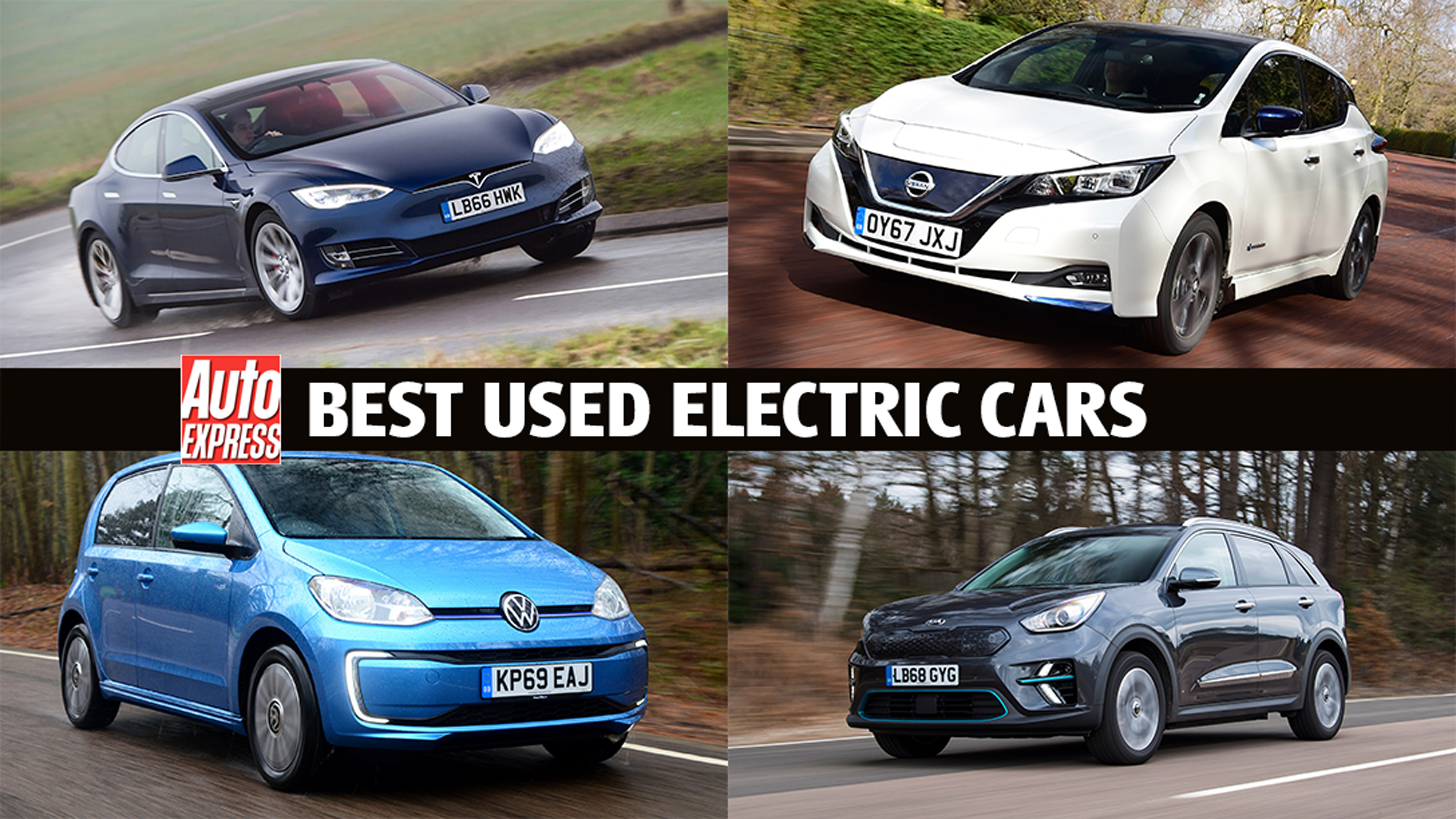Best Used Electric Cars 2021 Auto Express