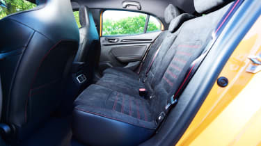 Renault Megane RS - rear seats