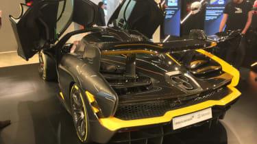 McLaren Senna Carbon Theme rear