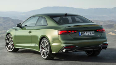 2019 Audi A5  - rear 3/4 static