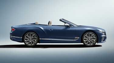 Bentley Continental GT Mulliner Convertible - side static