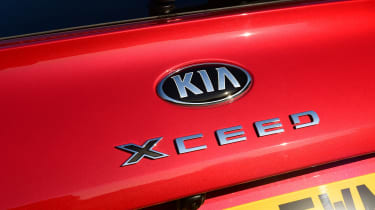 Kia XCeed - badge