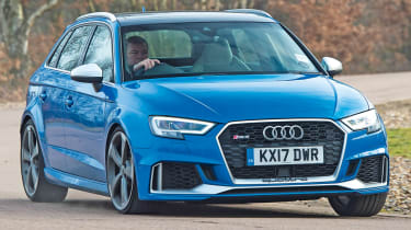 Audi RS3 2018 long-term front