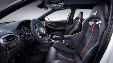 Hyundai i30 N Option - cabin