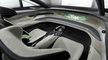 Audi Grandsphere concept - interior
