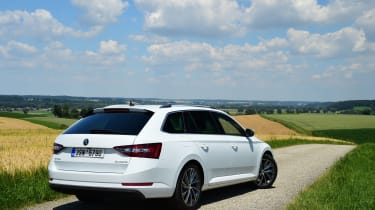 The boot on the new Superb is a colossal 660 litres with the seats up.
