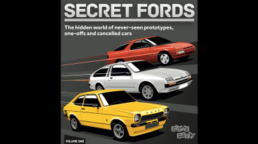 Secret Fords uncovered - book