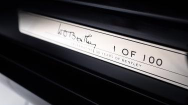 Bentley Mulsanne special - plaque