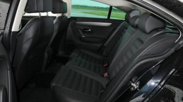 Volkswagen CC rear seats