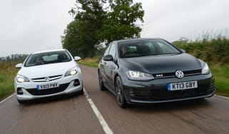 Volkswagen Golf GTD vs Vauxhall Astra BiTurbo