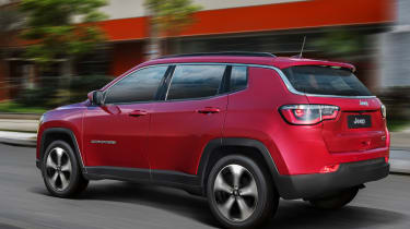 Jeep Compass 2017 - rear tracking