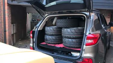 SsangYong Rexton - tyres