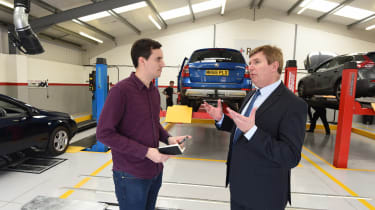 MOT test feature - Lawrence interview