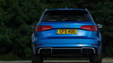 Audi RS3 Sportback - full rear static