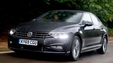 Volkswagen Passat - front tracking