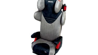 Full seats: Recaro Start £195Is this the Rolls-Royce of child seats? The Start even lets your offspring play their iPod through speakers in the headrest! It can't be adjusted, which is said to mean greater protection, and t